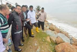 Penduduk Terengganu gusar hakisan pantai makin parah