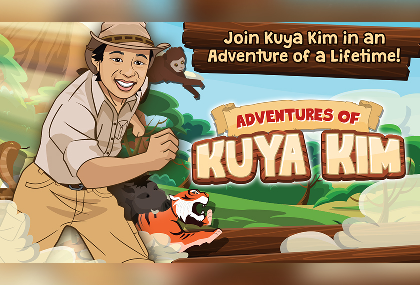 The Adventures of Kuya Kim is one of Philippine company Xeleb's celebrity-based mobile gaming apps. Xeleb Photo