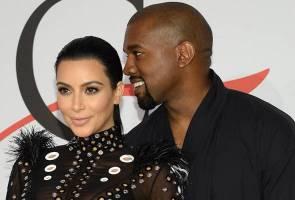 Kanye West beli saham 5 syarikat gergasi untuk Kim Kardashian