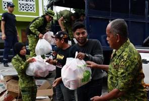 Mangsa banjir di Pahang masih kekal 71 orang