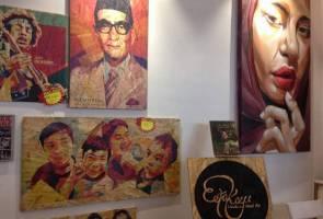 PAU2017: Hati wanita 'cair' bila lawat pameran hasil seni