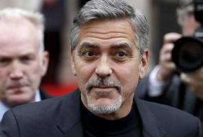 George Clooney balas budi 14 rakan karib dengan beri AS$1 juta seorang