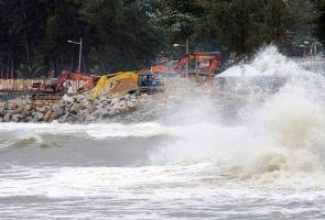 Dua kuala di Terengganu diancam hakisan tahap kritikal
