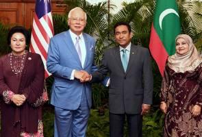 Lawatan PM Najib perkukuh hubungan, kerjasama Malaysia-Maldives