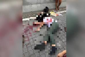 Pelajar sekolah maut dirempuh kereta