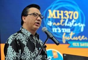 Keputusan sambung mencari MH370 minggu depan - Tiong Lai