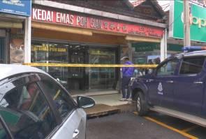 Kedai emas dirompak rugi lebih RM200,000