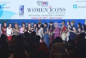 19 individu terima Anugerah Ikon Wanita