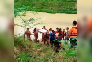 Tiga sekawan mati lemas, kesemua mayat ditemui