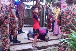 Arwah anak harapan saya, tetapi tuhan lebih sayang dia - Bapa mangsa banjir