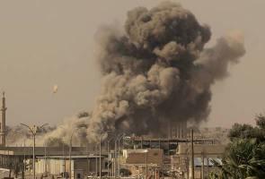 Tentera Syria lancar serangan udara ke kubu pemberontak