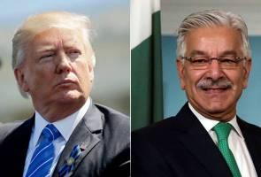 """""""Amerika Syarikat yang bodoh, beri Pakistan AS$33 bilion"""" - Trump"""