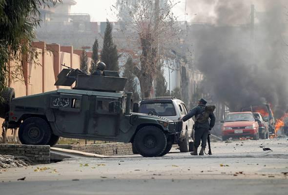 Serangan di pejabat Save The Children, lima terbunuh