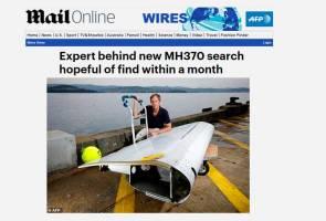 MH370 dijangka ditemui dalam tempoh beberapa minggu - Pakar