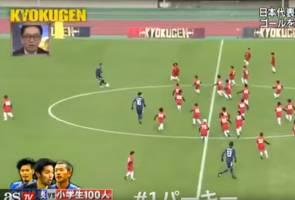100 lawan 3, perlawanan bola sepak paling unik di Jepun