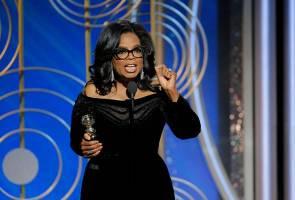 Oprah Winfrey bertanding presiden Amerika Syarikat?