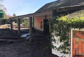 Mangsa banjir lumpur selatan California mula bersihkan kediaman