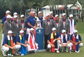 Golf EurAsia Cup 2018: Eropah pertahan kejuaraan