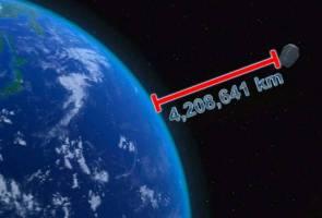 Asteroid sebesar bangunan Burj Khalifah sedang bergerak menghampiri Bumi