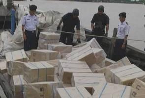 Tujuh warga asing ditahan, rokok seludup RM1.86 juta dirampas
