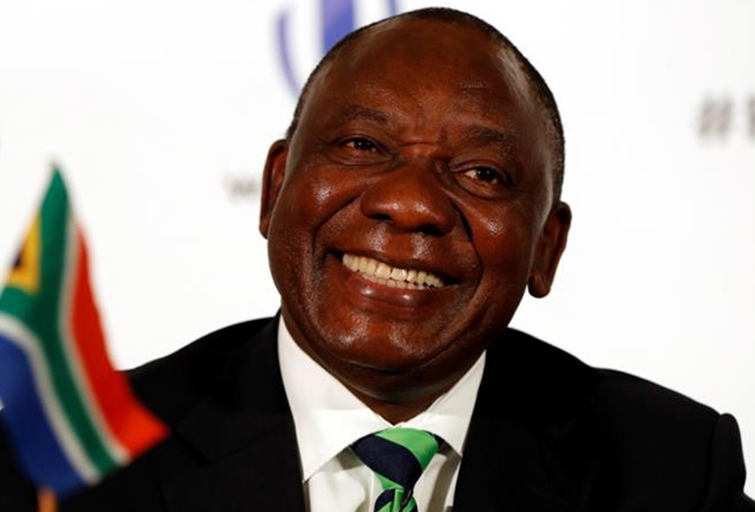 Cyril Ramaphosa is president of the ruling African National Congress party. He is expected to take over from South African President Jacob Zuma. Glyn Kirk/AFP