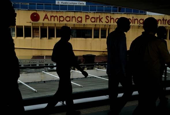MRT nafi jalankan sebarang aktiviti di Kompleks Beli-Belah Ampang Park