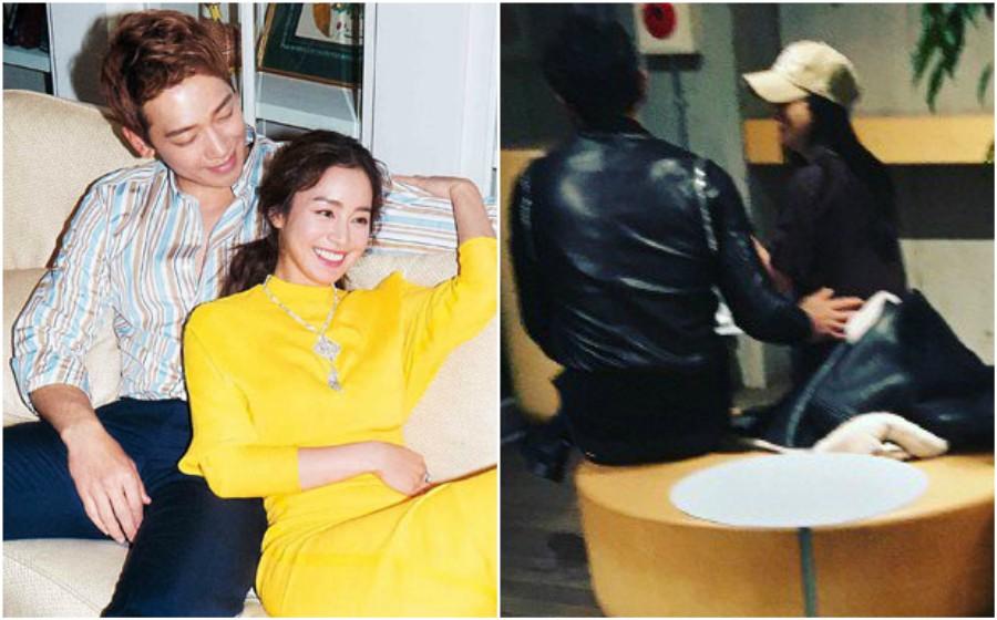 Manjanya Kim Tae Hee dan Rain, macam orang baru bercinta