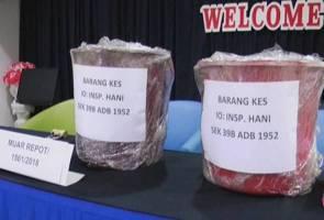 Polis Muar patah sindiket edar dadah, rampas syabu bernilai RM1.7 juta