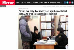 Pasangan terkejut besar, bayi disahkan mati 7 tahun lalu masih hidup