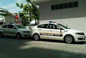 Kenderaan polis China di Putrajaya untuk penggambaran filem - PDRM