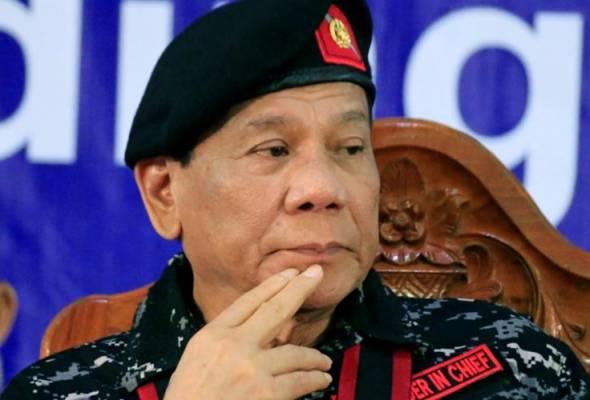 Duterte mengambil penyelesaian yang tidak melibatkan provokasi. - Gambar fail | Astro Awani