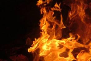 Warga emas rentung dalam kebakaran di Simpang Empat, Perlis