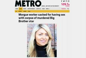 Hilang kerja, ditinggal isteri selepas nodai mayat peserta program realiti