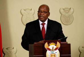 Terpalit skandal rasuah, Presiden Afrika Selatan letak jawatan