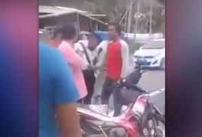 Polis trafik ditumbuk, remaja naik angin ditahan