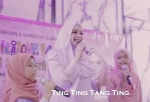 'Comel Pipi Merah' milik Siti Nurhaliza bakal ceriakan bulan Mac