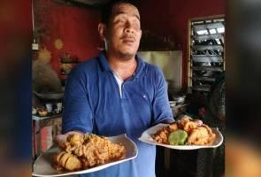 Nasi goreng sotong emas diserbu