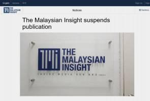 The Malaysian Insight gantung operasi