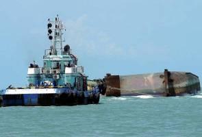 Operasi SAR kapal korek diteruskan, dengar bunyi ketukan
