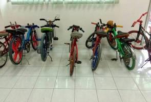 Tujuh kanak-kanak, remaja geng basikal lajak ditahan polis