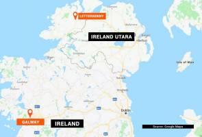 Lima penuntut Malaysia terlibat kemalangan di Ireland