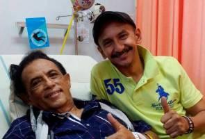 Farouk Hussain ajak peminat, rakan artis doakan Hail Amir kembali sihat