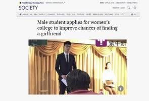 Lelaki daftar diri di universiti wanita untuk mencari pasangan