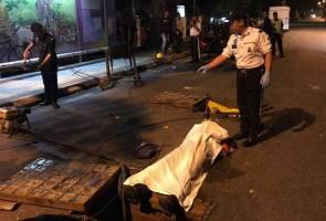 Kontraktor TM maut dilanggar pemandu mabuk