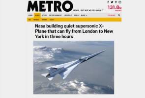 Hanya 3 jam dari London ke New York dengan pesawat Supersonic X