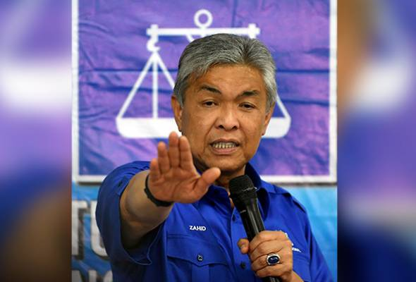PRU14: Senarai calon BN akan diumum pengerusi negeri - TPM Zahid