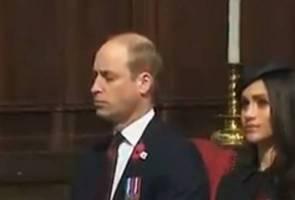 Kesian Putera William, hampir terlelap di majlis rasmi akibat penat jaga bayi