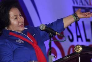Rosmah nasihat orang politik amal politik matang