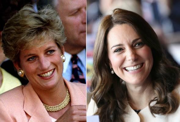 Kenapa Diana digelar puteri, Kate Middleton tidak?