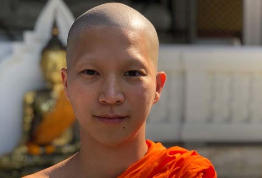 Phra Visuddho adalah seorang sami residen di Wat Saket, Kuil Gunung Ema,s di kawasan Pom Prap Sattru Phai, Bangkok. Ceritalah/ Hezril Azmin